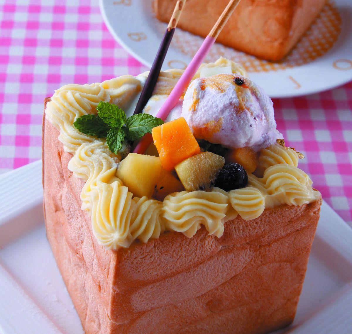 食譜:綜合水果蜜糖吐司
