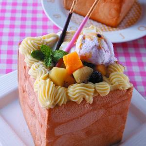 綜合水果蜜糖吐司