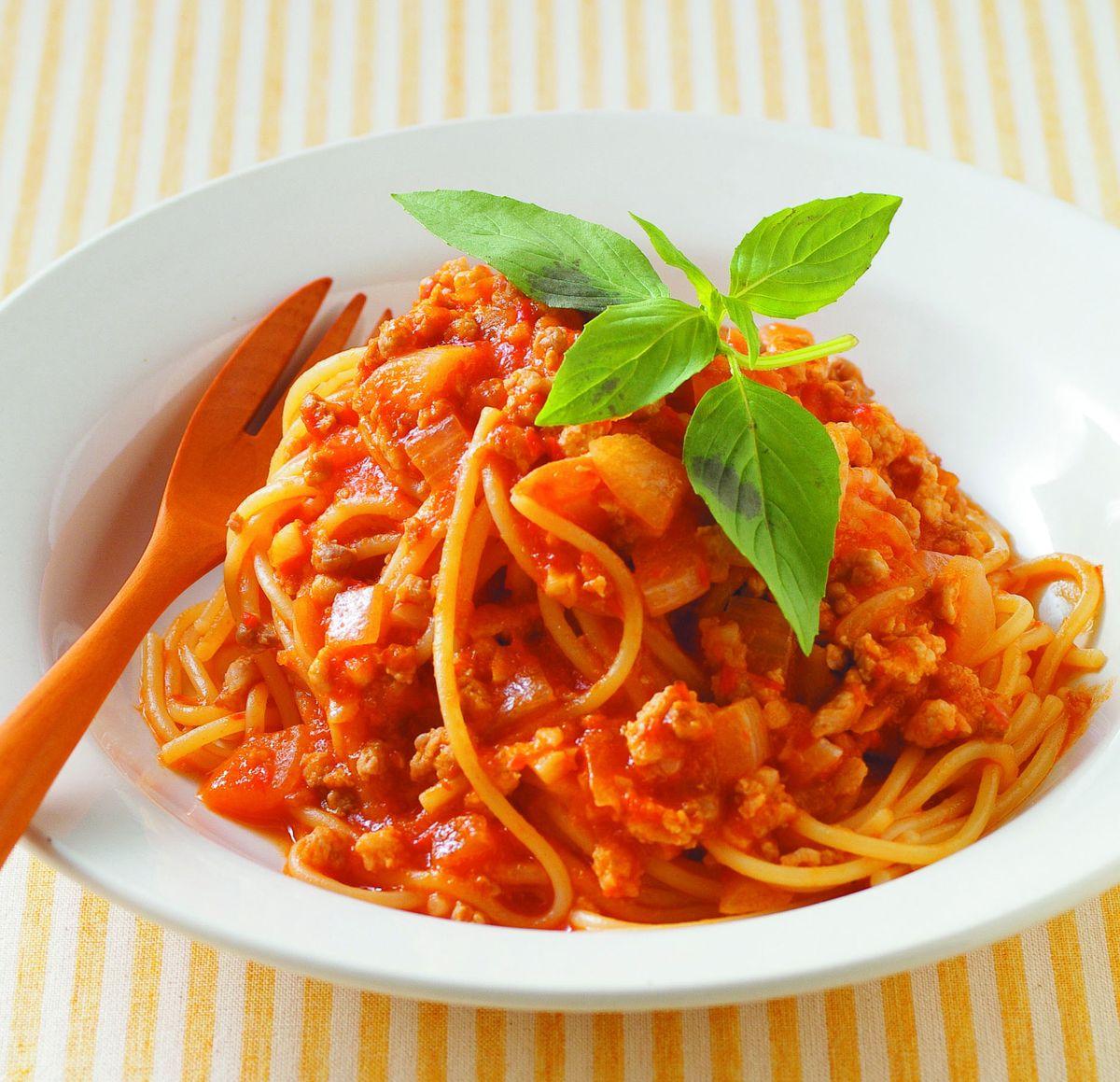 食譜:義大利肉醬麵(3)