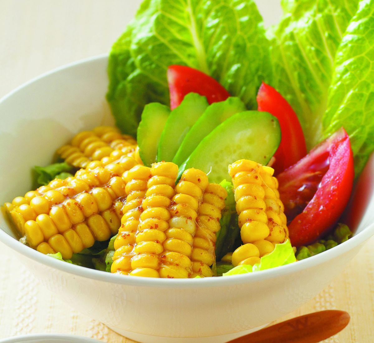 食譜:日式生菜沙拉