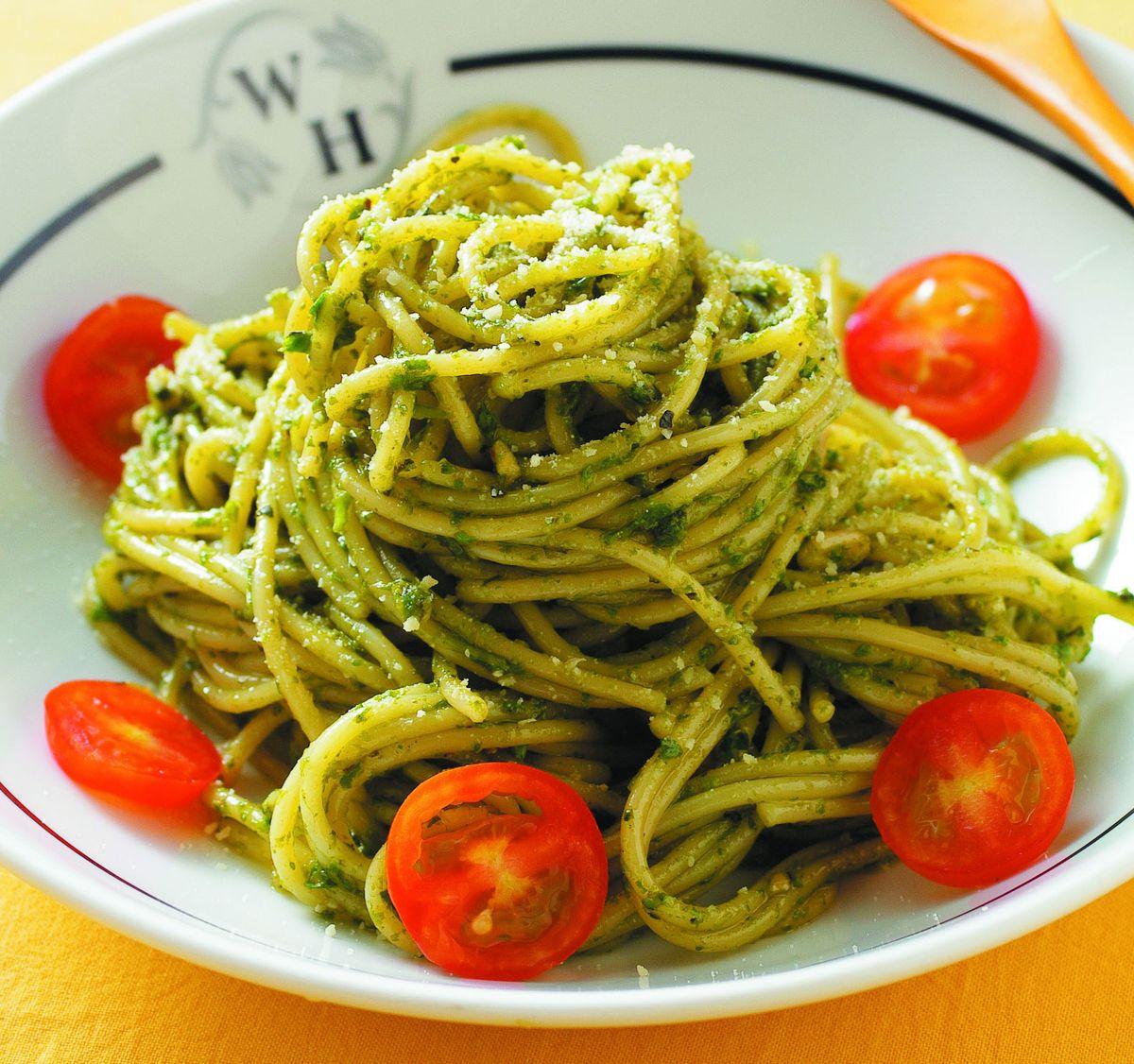 食譜:青醬義大利麵(1)