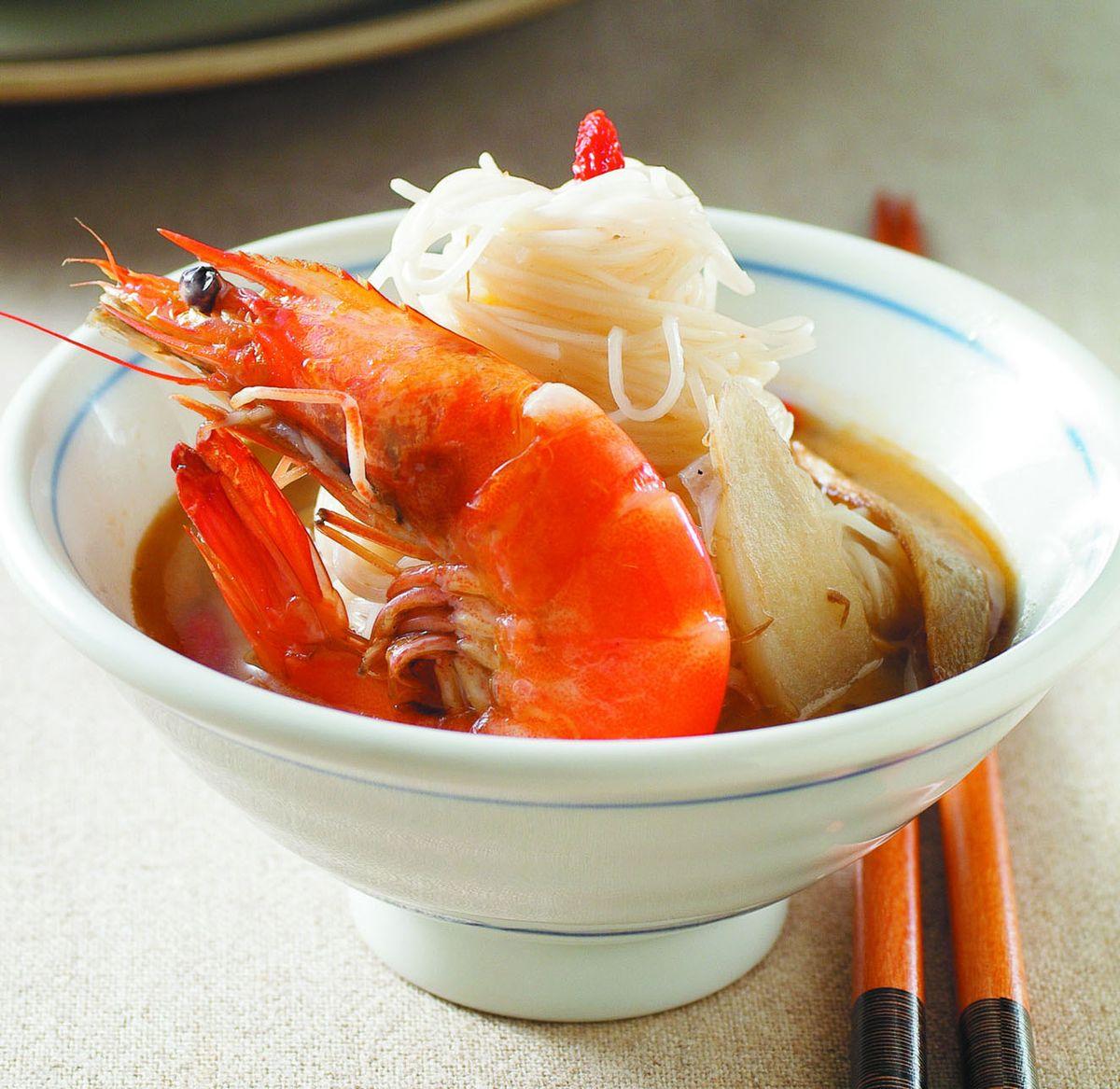 食譜:麻油蝦(2)