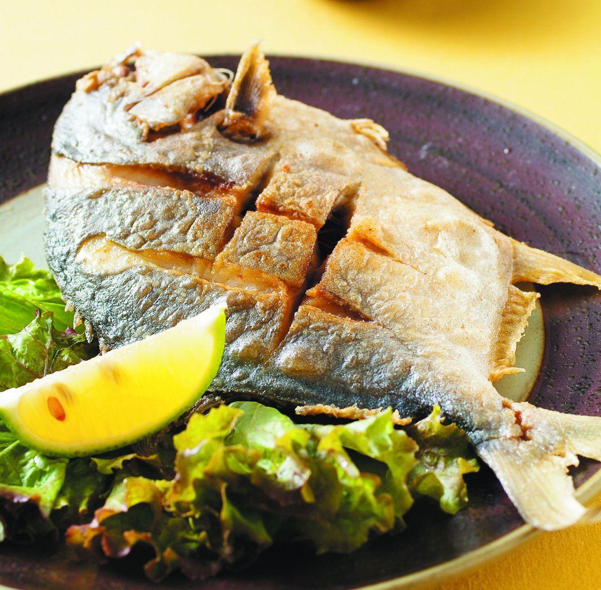 食譜:香煎鯧魚