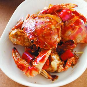 蔥香蠔油花蟹