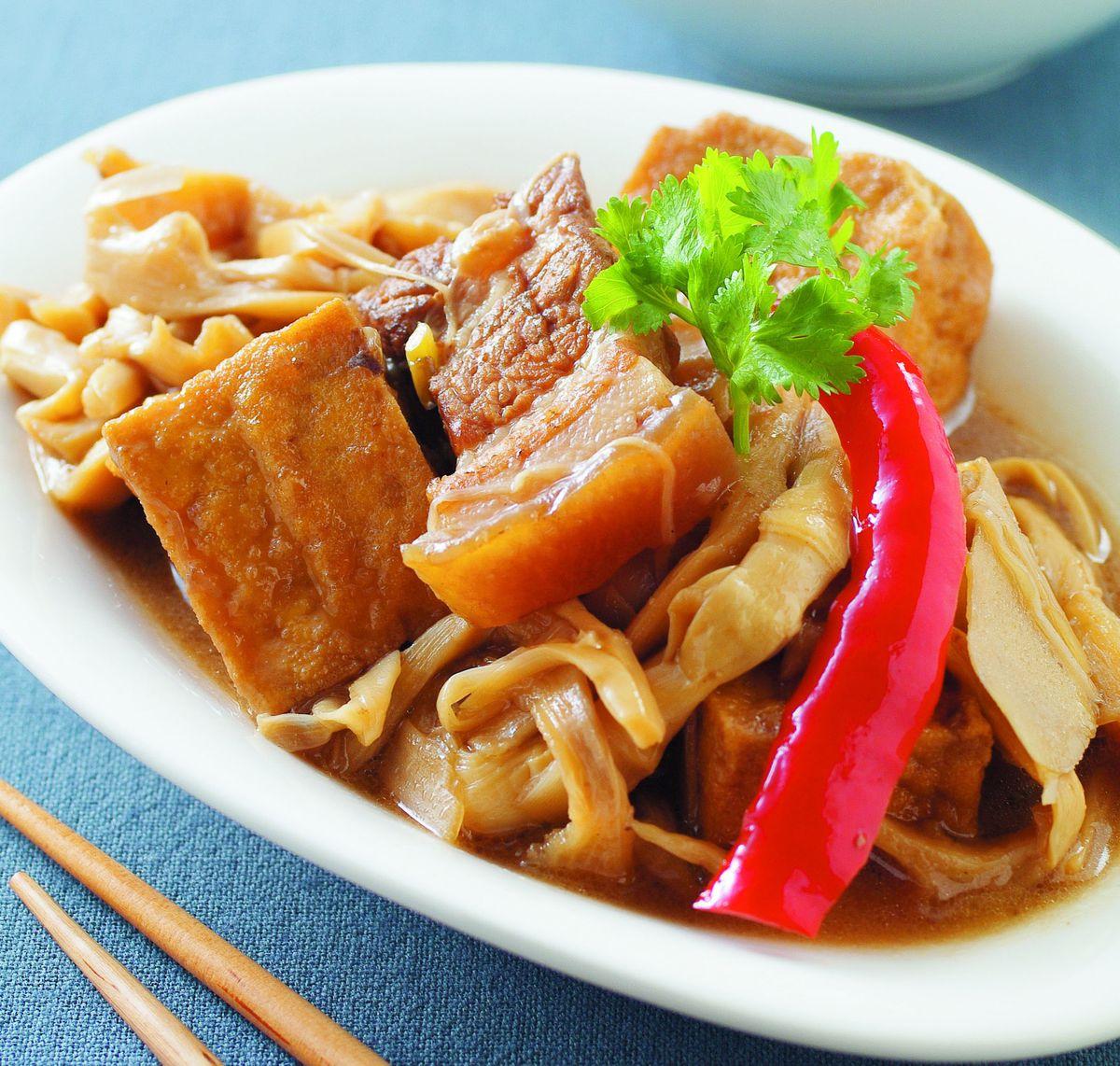 食譜:筍乾控肉