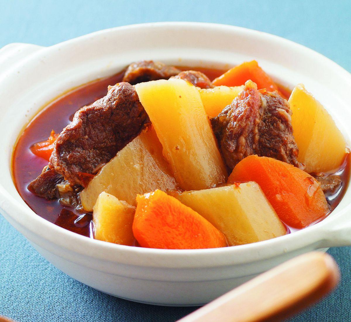 食譜:蘿蔔燉牛肉