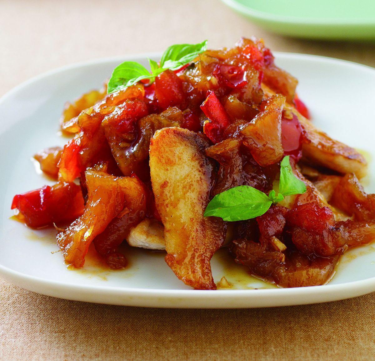 食譜:鳳梨乾燴鯛魚