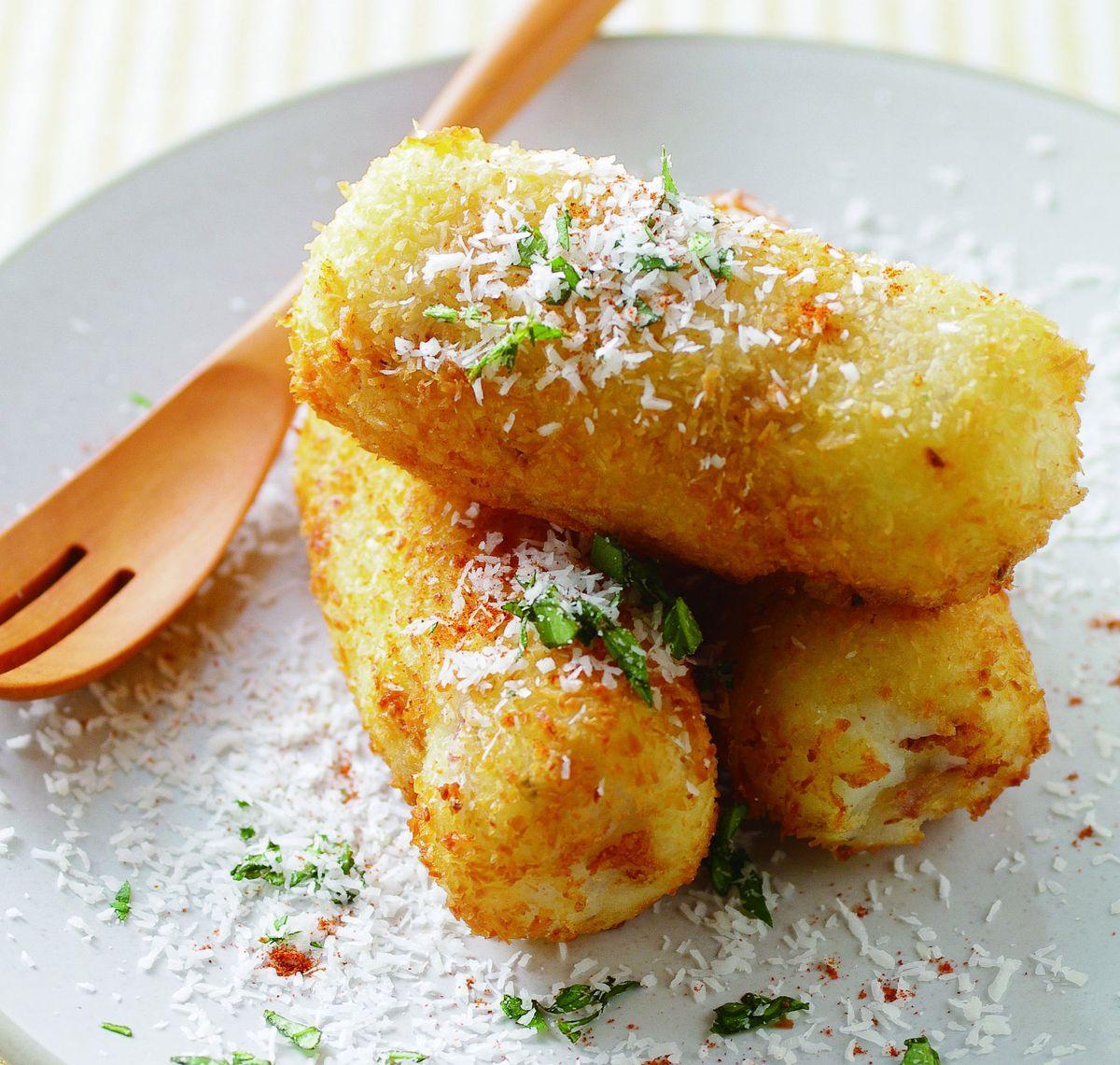 食譜:培根馬鈴薯炸椰子絲