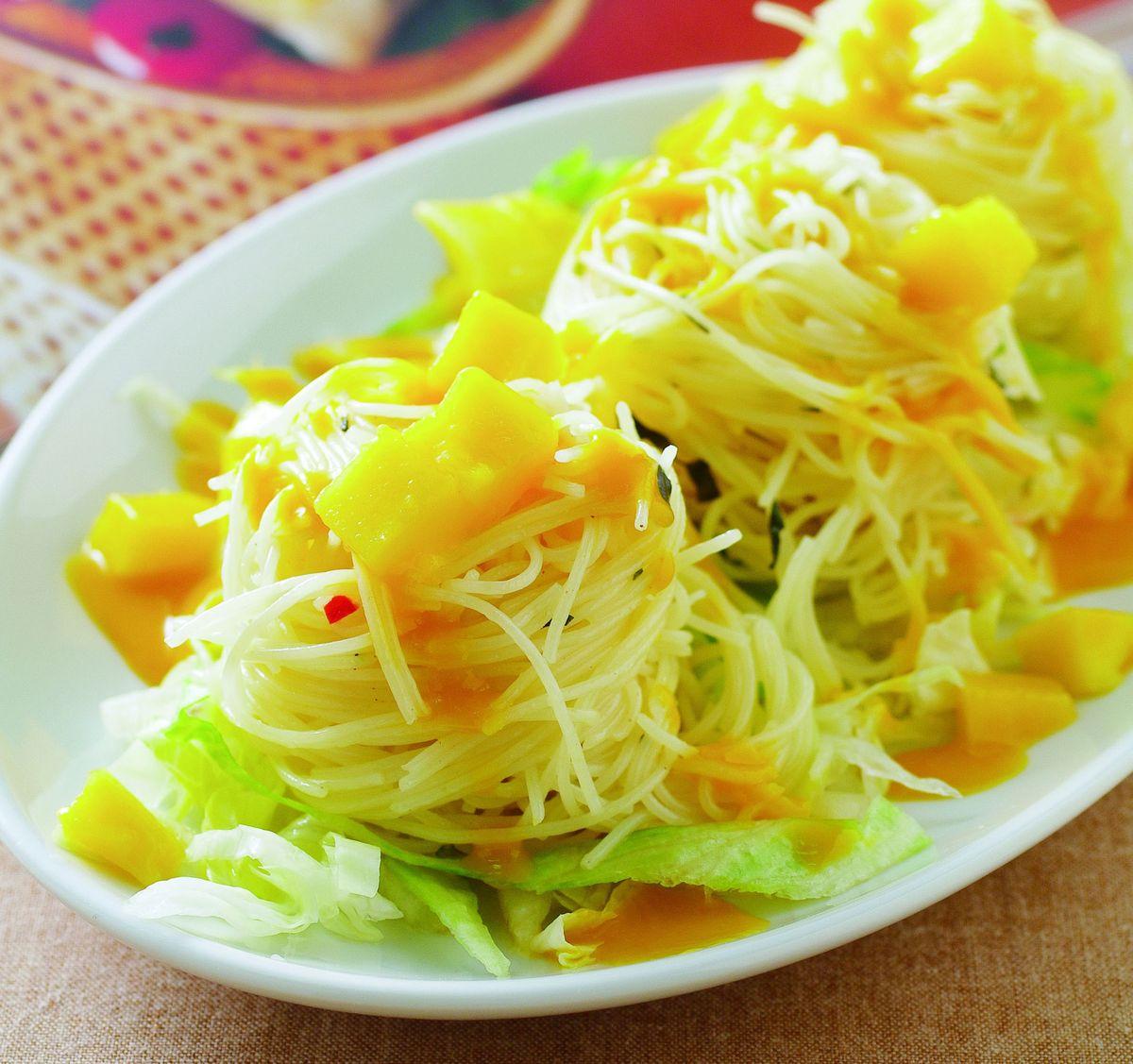 食譜:芒果泥涼麵