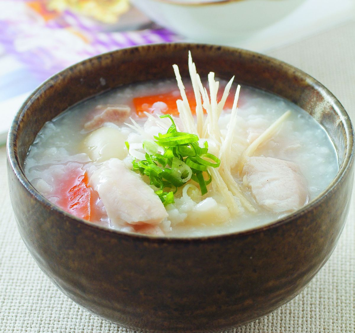 食譜:百合魚片粥