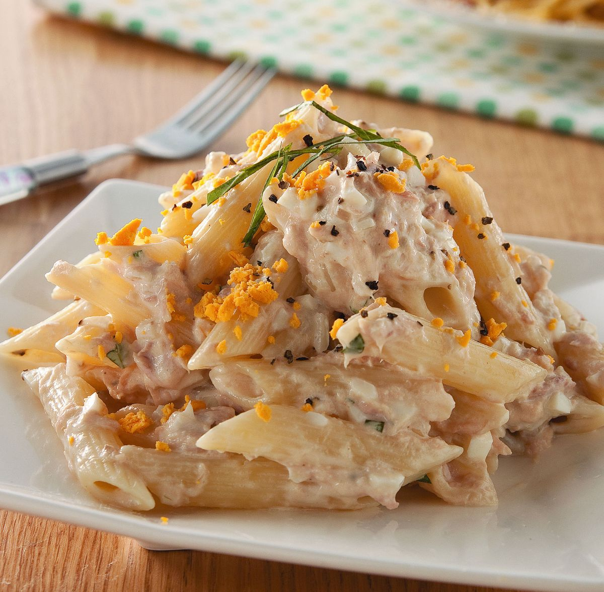 食譜:鮪魚沙拉通心麵