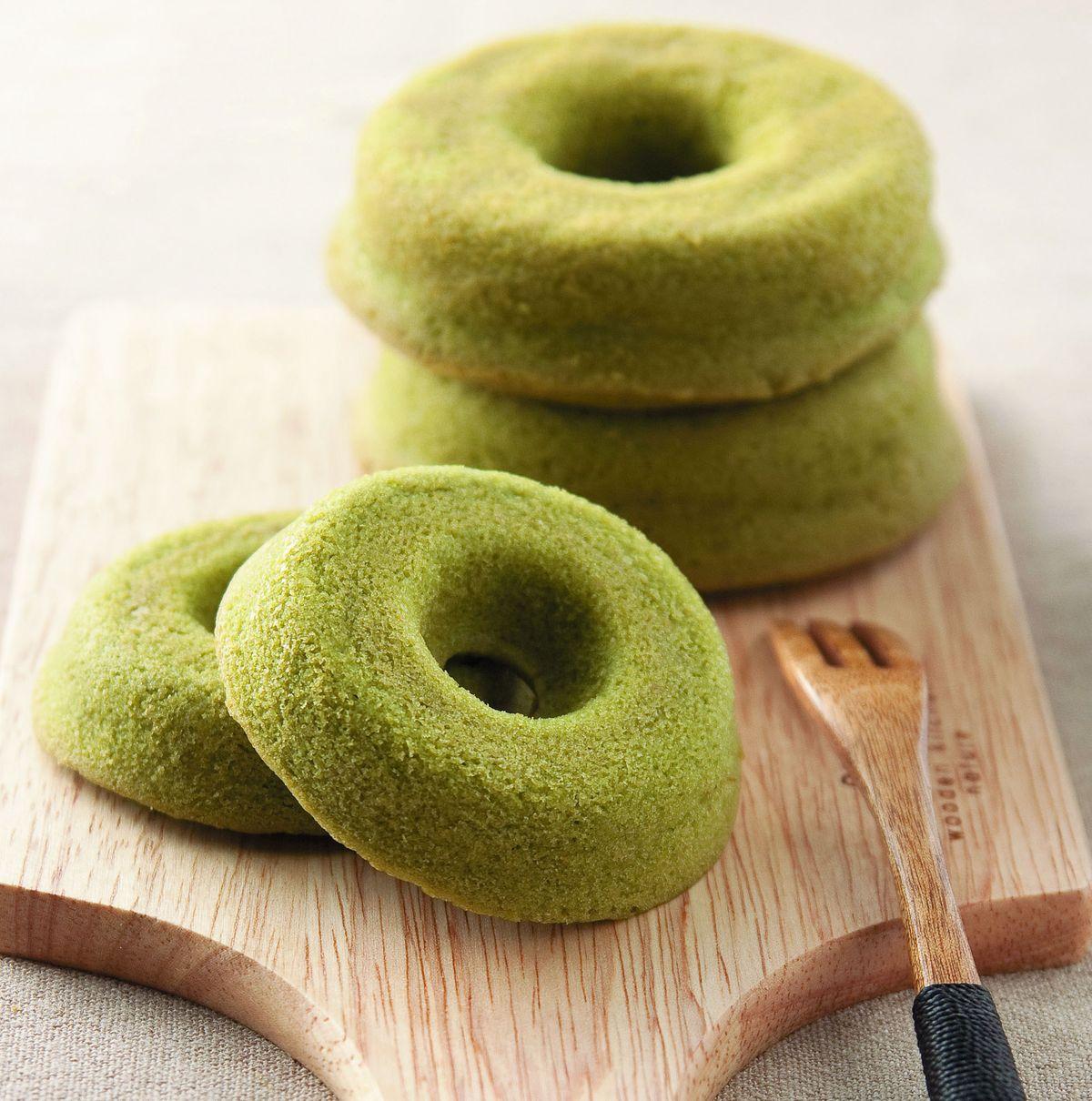 食譜:抹茶甜甜圈