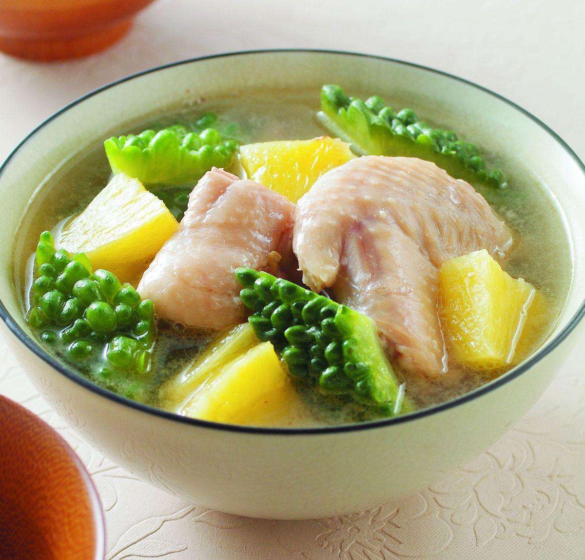 食譜:鳳梨苦瓜雞湯(2)