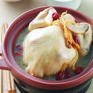 參鬚紅棗雞湯