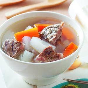 清燉蘿蔔牛肉湯