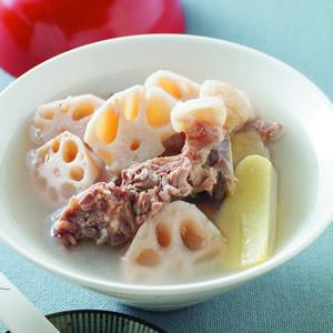 蓮藕排骨湯(2)