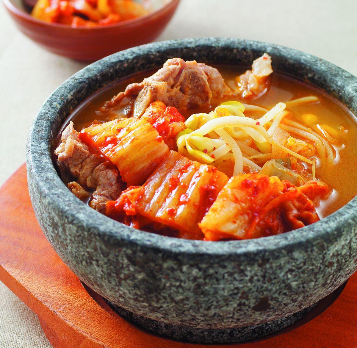 食譜:韓式泡菜湯(1)