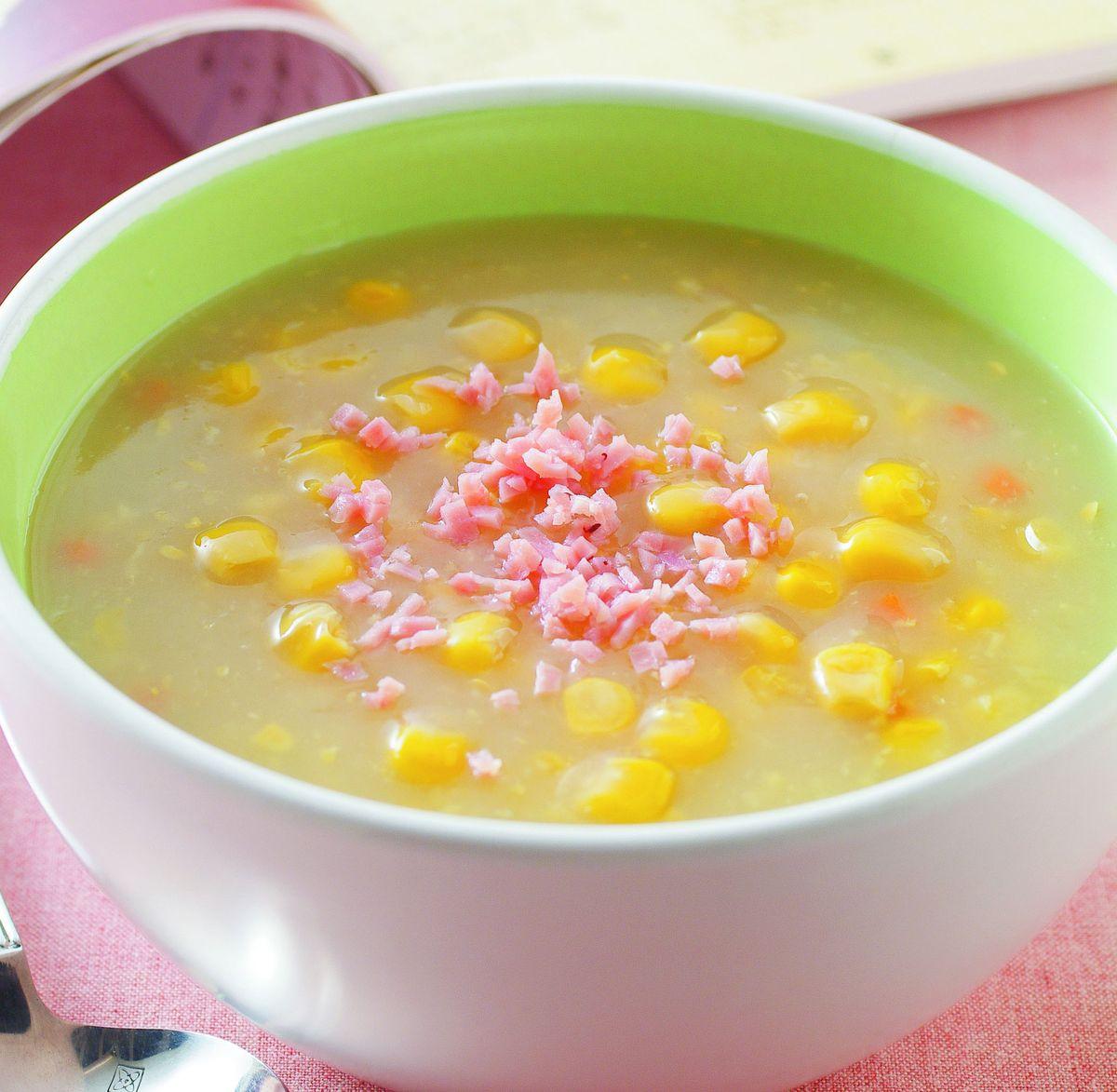 食譜:玉米濃湯(4)