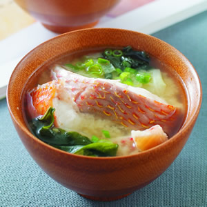 鮮魚味噌湯(1)
