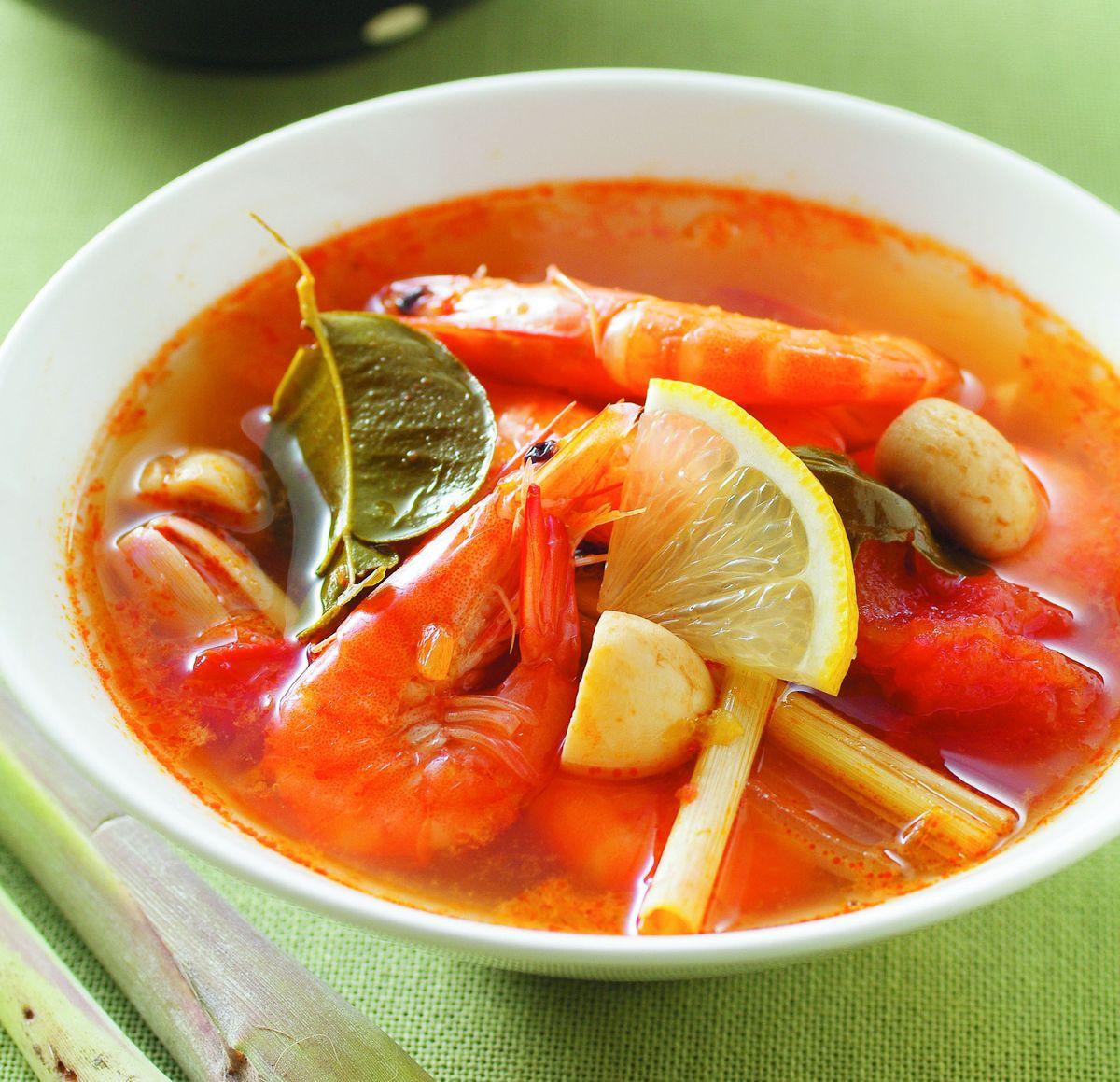 食譜:泰式酸辣湯(2)