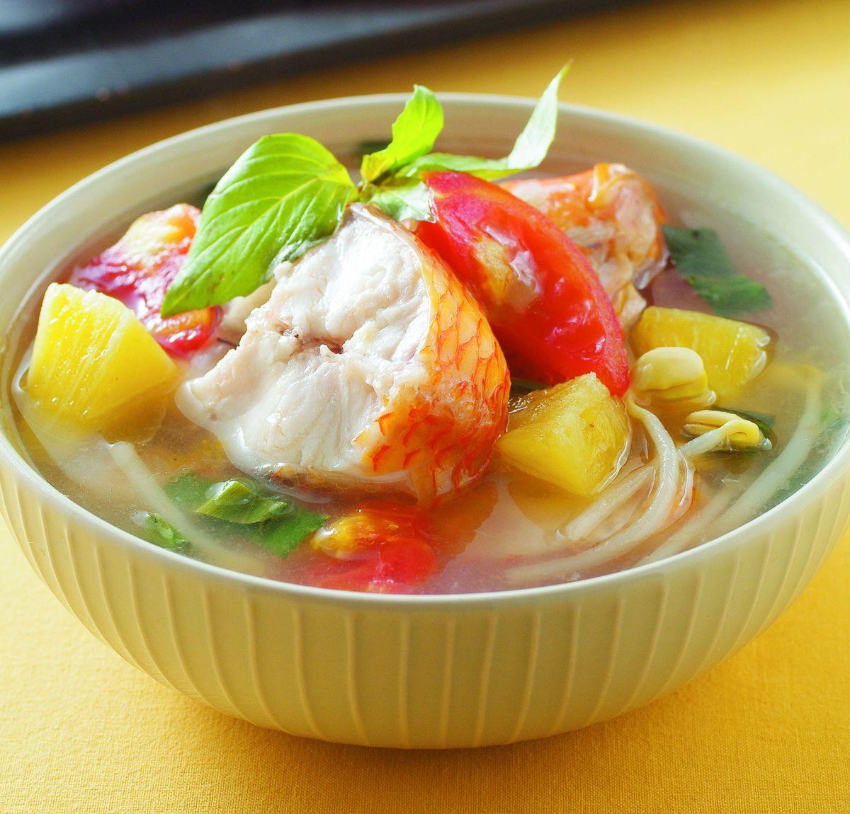 食譜:越式酸魚湯