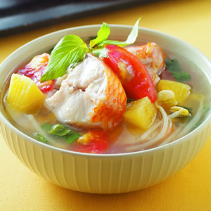 越式酸魚湯