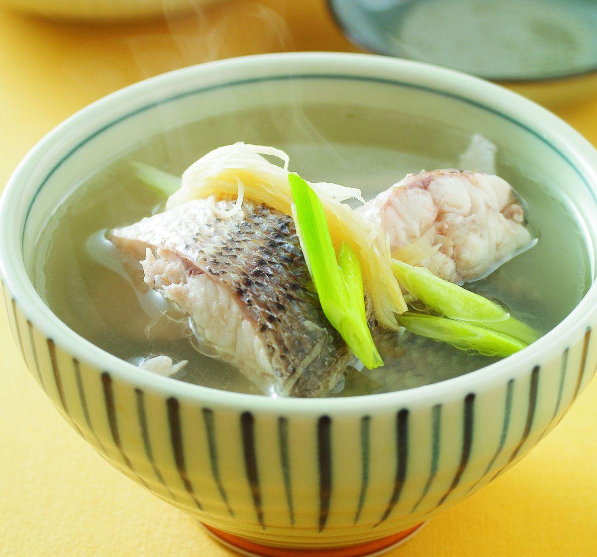 食譜:鮮魚湯(1)