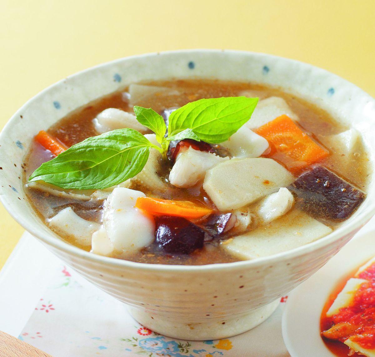 食譜:沙茶魷魚羹(6)