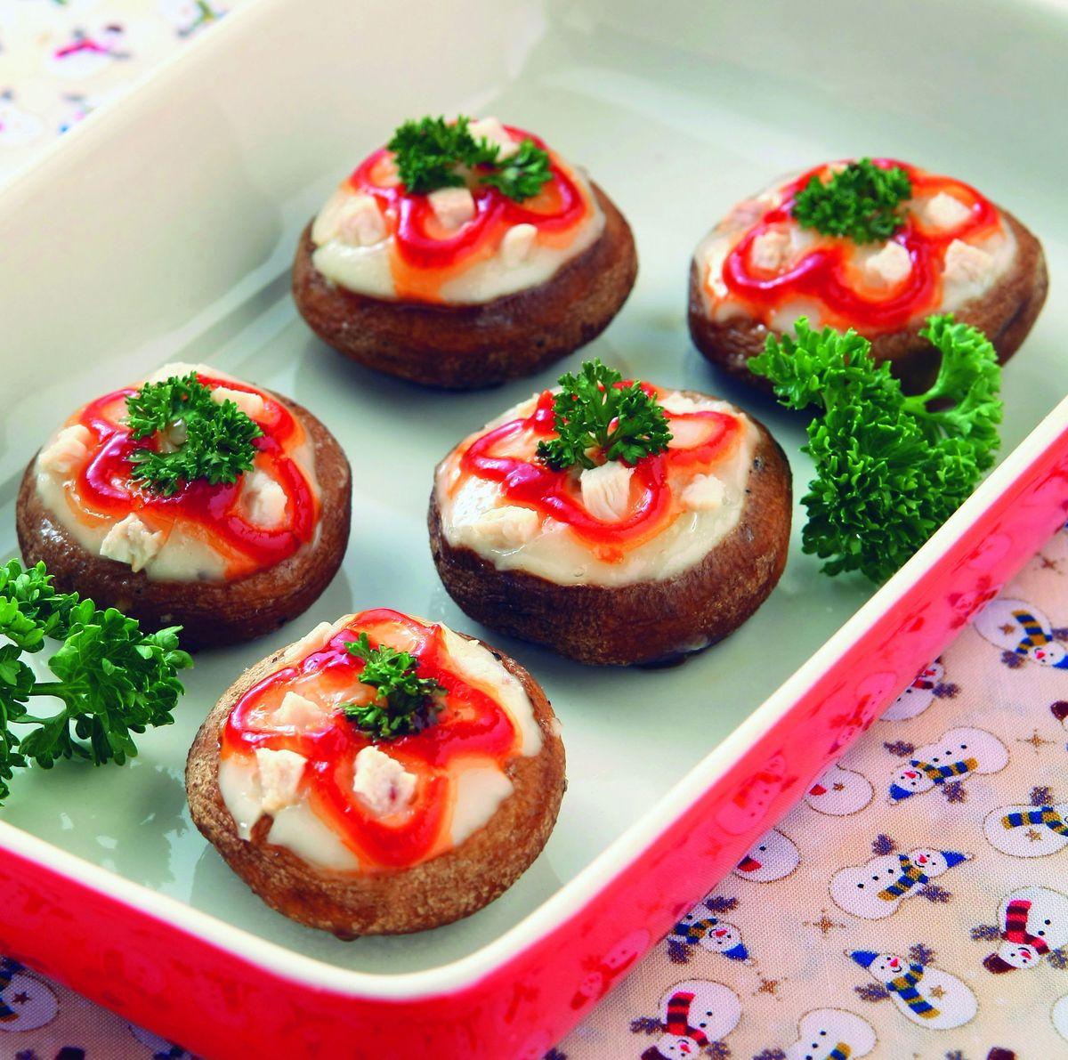 食譜:火雞肉烤鮮菇