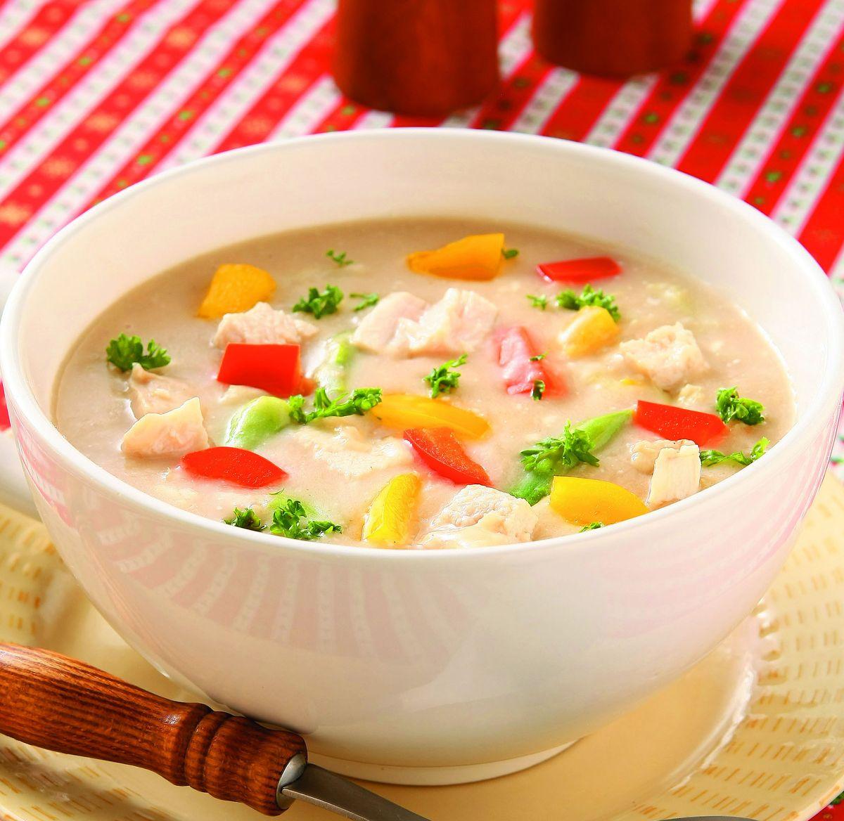 食譜:雞汁蔬菜濃湯