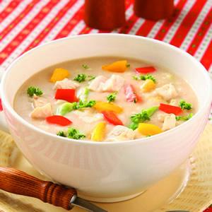 雞汁蔬菜濃湯