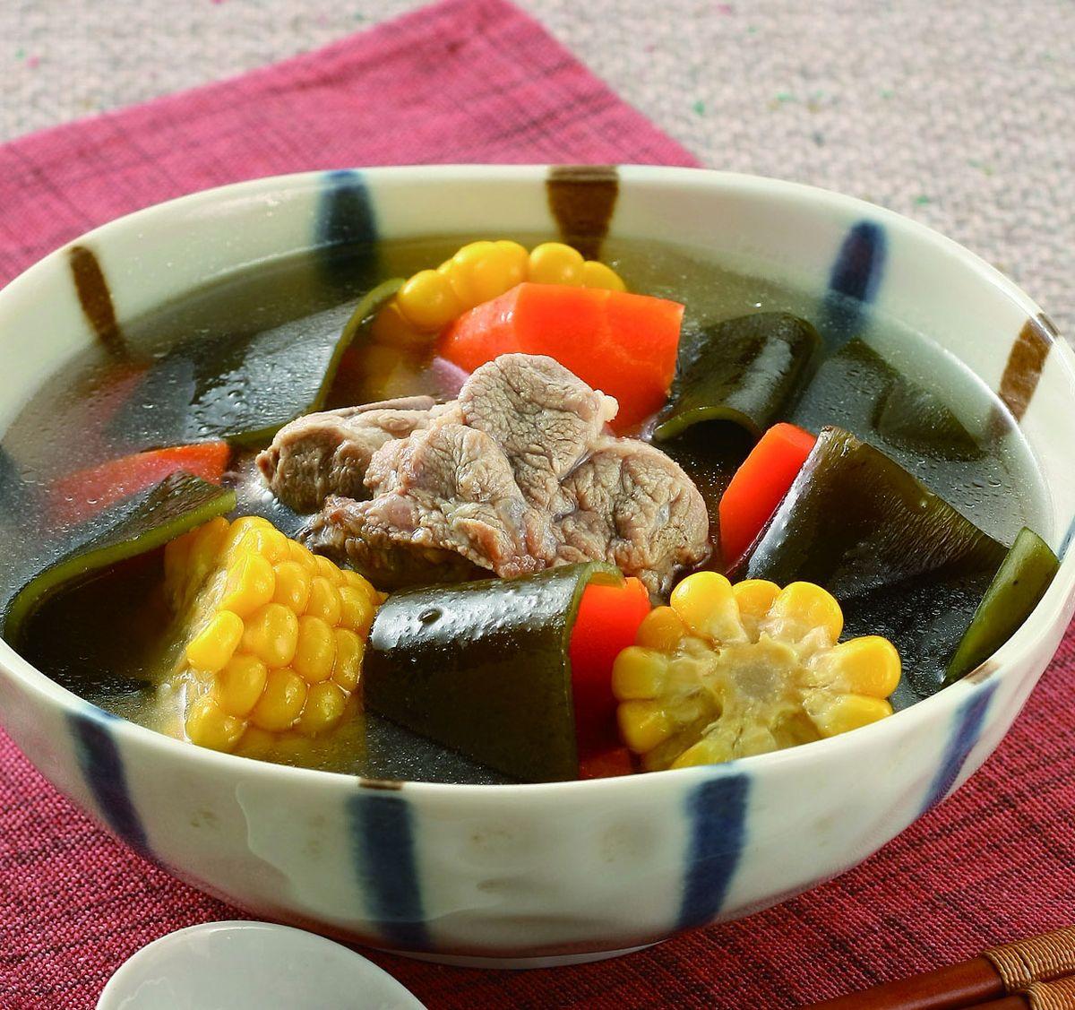 食譜:昆布排骨湯(1)