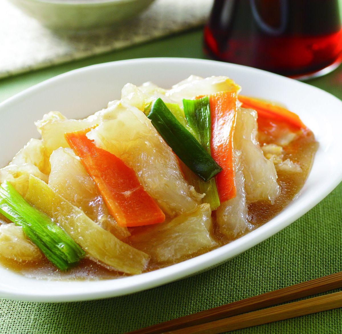 食譜:日式蔥燒蹄筋