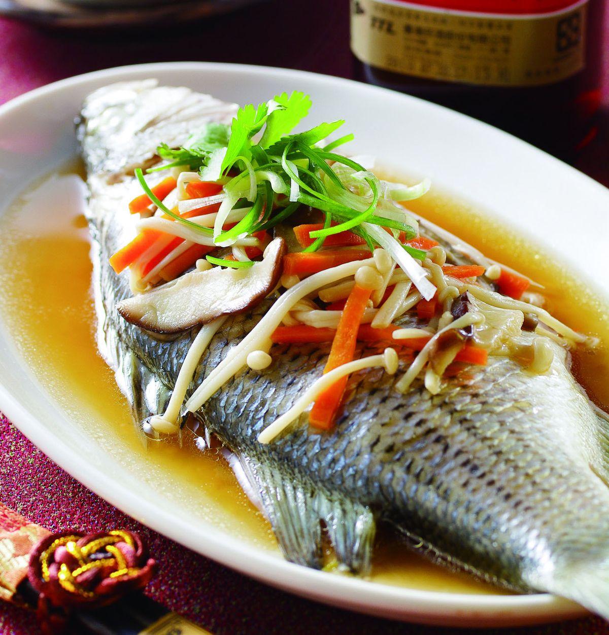 食譜:黃酒蒸魚