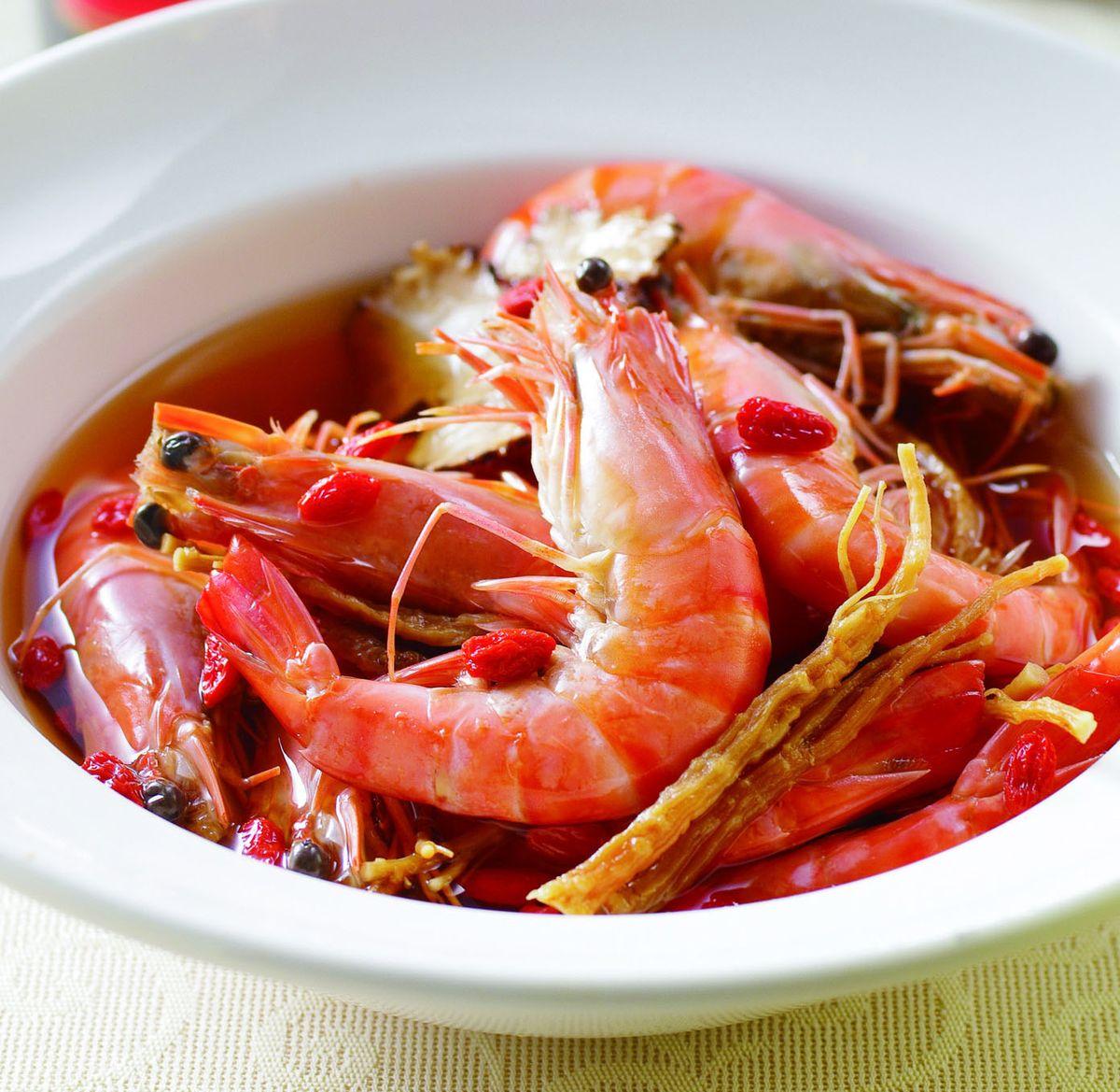 食譜:紹興醉蝦(7)