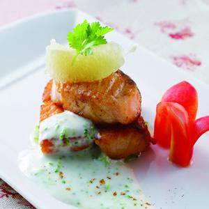 鮭魚佐優格