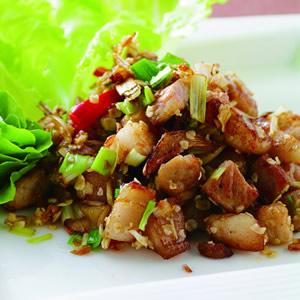 燕麥片炒回鍋豬肉