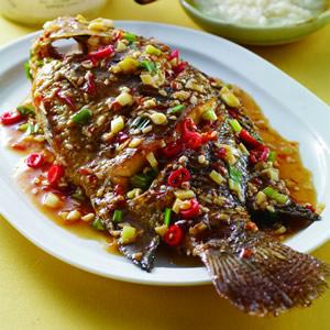 酒釀燒魚(1)
