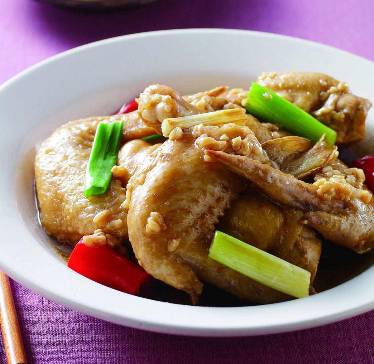食譜:酒釀燒雞翅