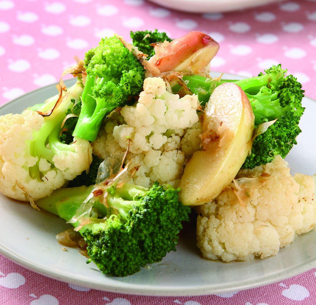 食譜:柴魚香拌花椰菜