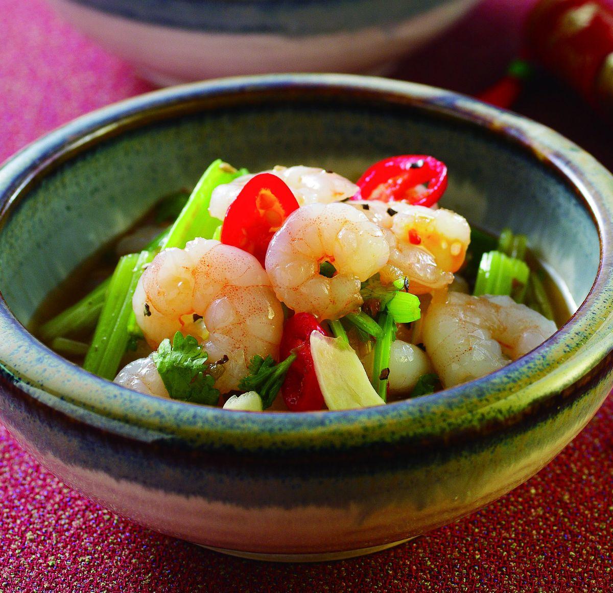 食譜:泰式酸辣拌蝦仁
