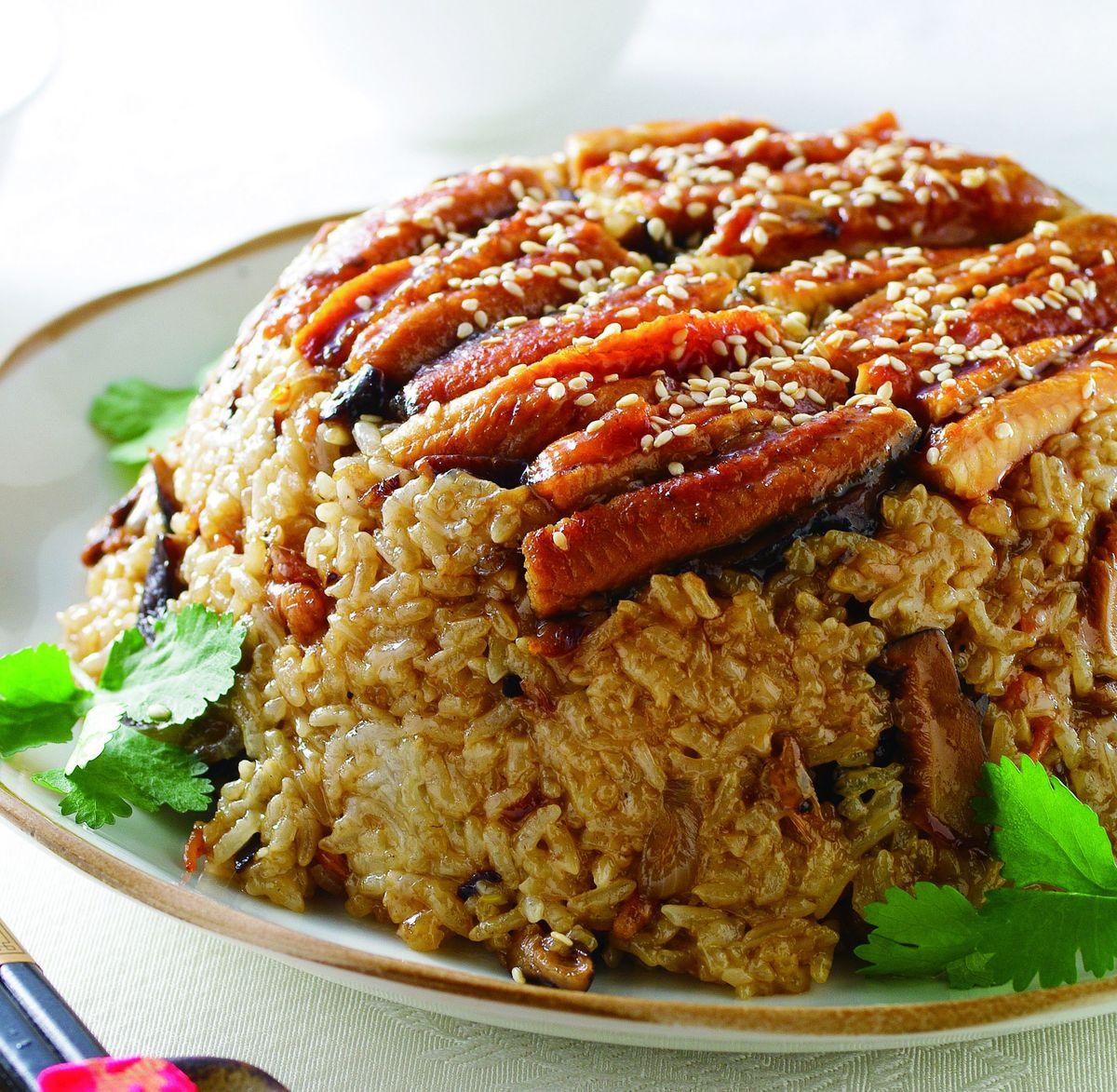 食譜:蒲燒鰻米糕