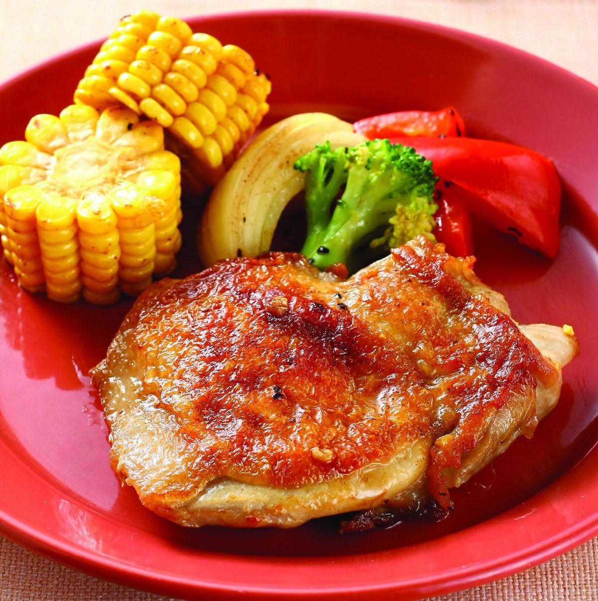 食譜:奶油烤雞腿