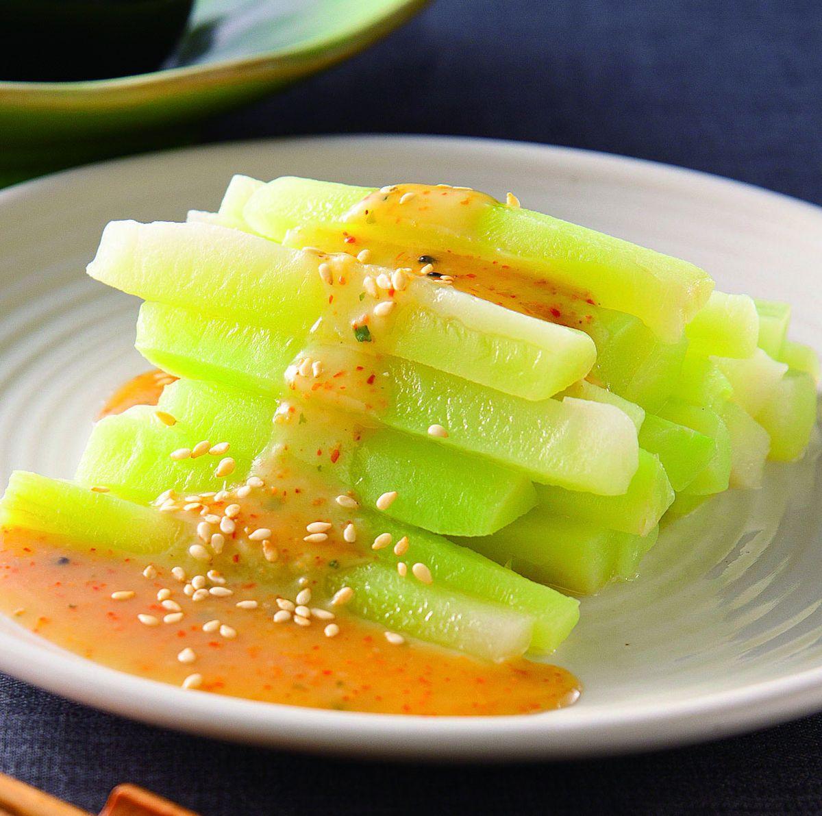 食譜:味噌涼拌椰菜心