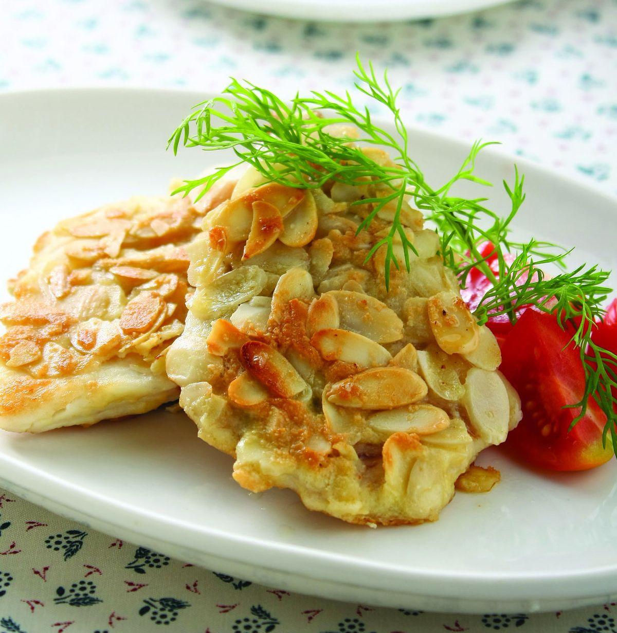 食譜:杏仁煎魚片