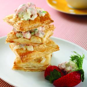 鮭魚酥皮塔