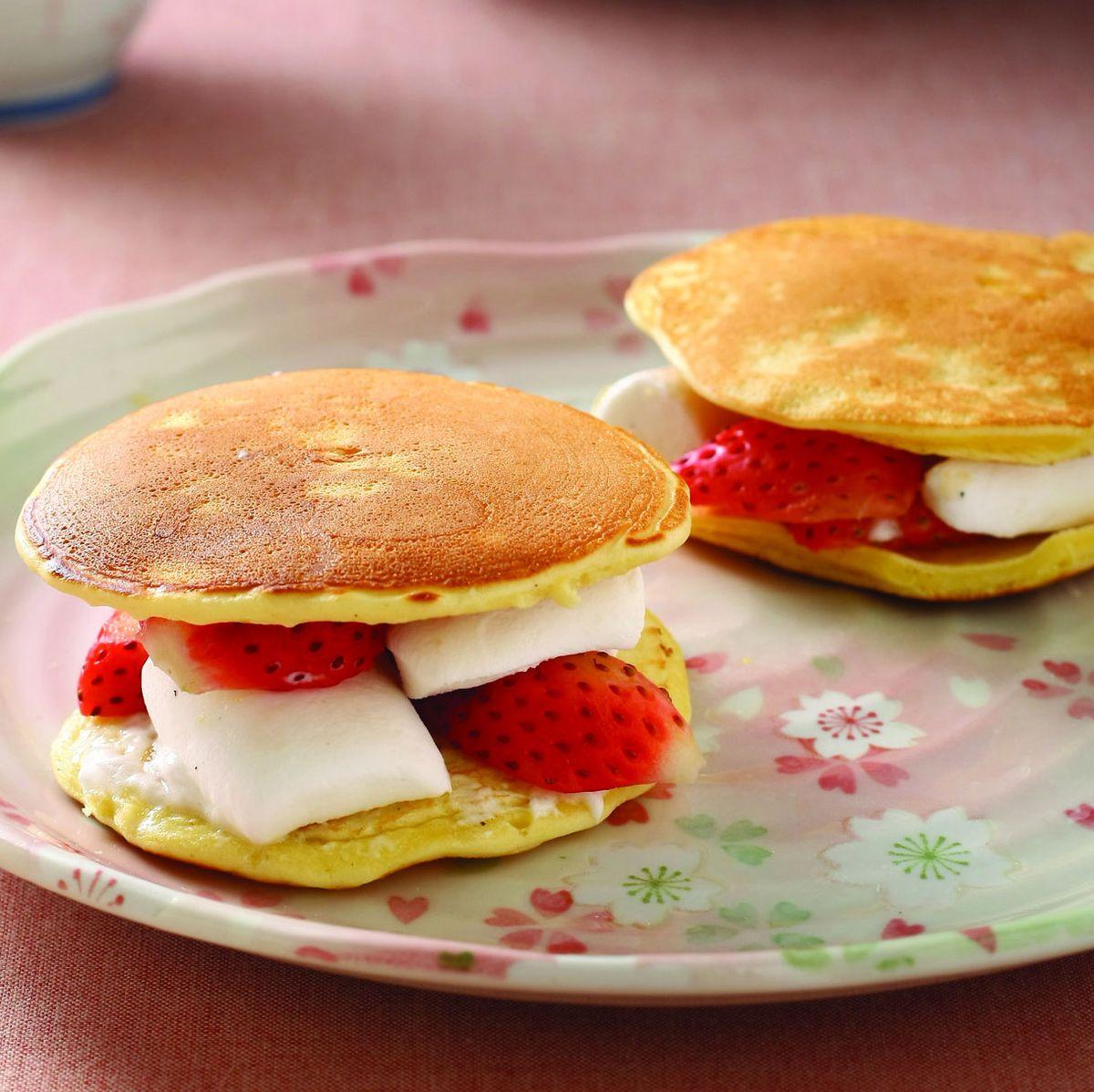 食譜:棉花糖草莓銅鑼燒