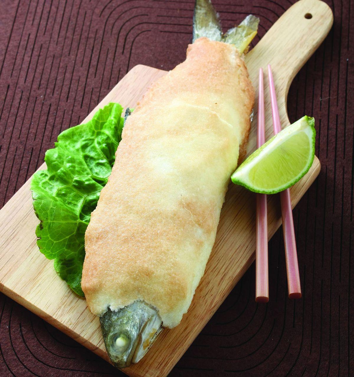 食譜:鹽烤鮮魚