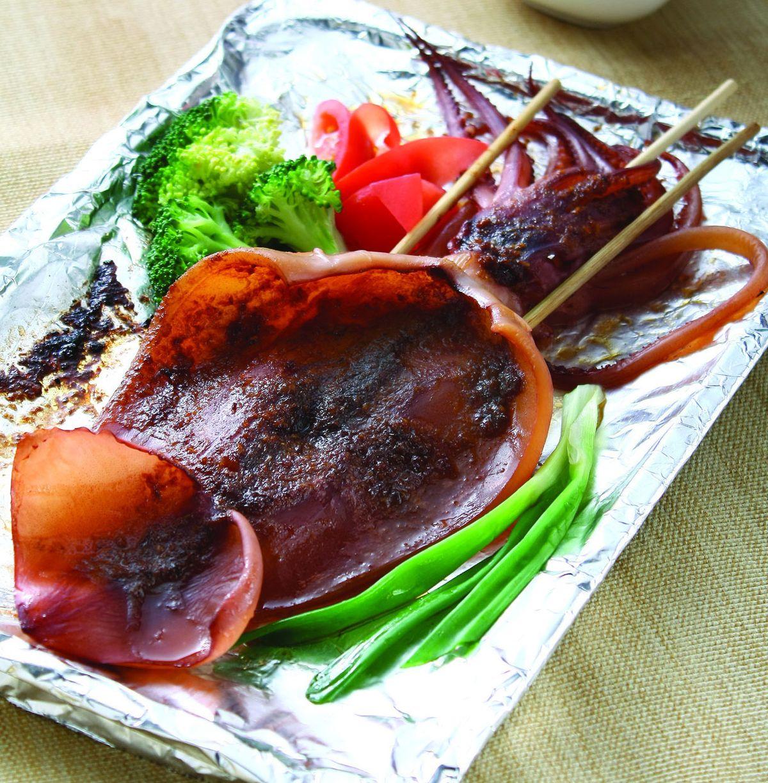 食譜:沙茶烤魷魚