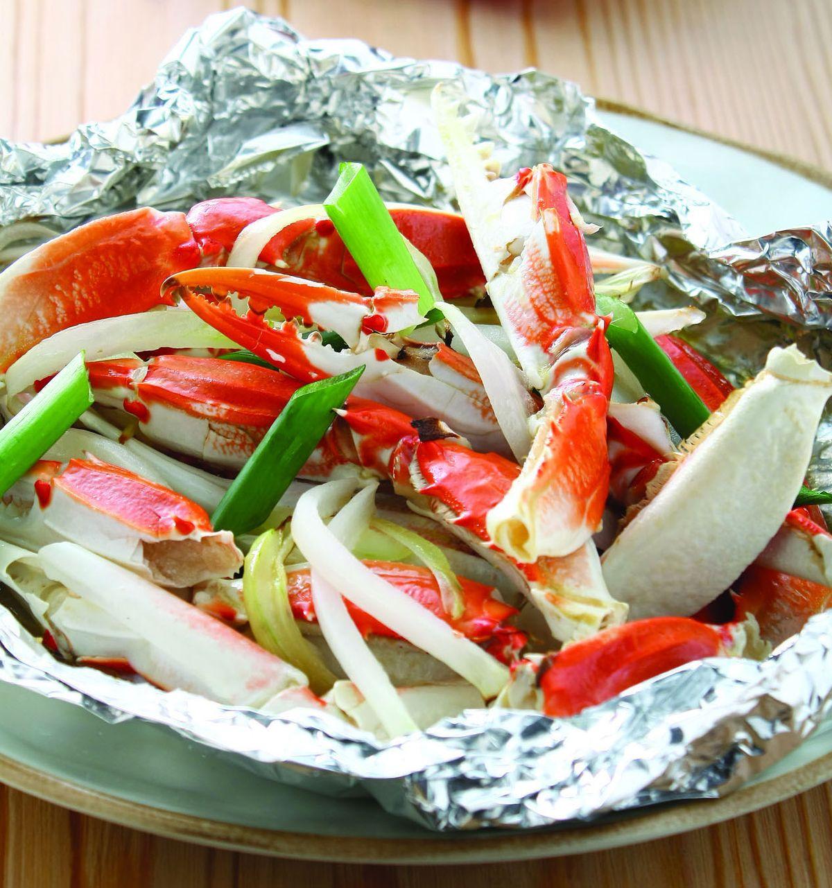 食譜:奶油蟹腳